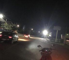 Motoristas de Guarapari reclamam de refletor na Rodovia do Sol