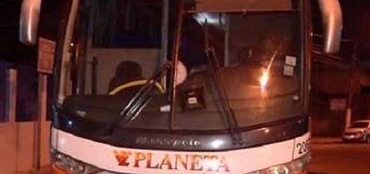 Assalto em ônibus que saiu de Guarapari com destino a Vitória