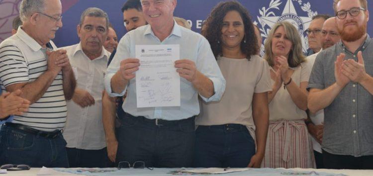 Casagrande vai a Alfredo Chaves e anuncia cerca de R$ 5 milhões em investimentos para o município