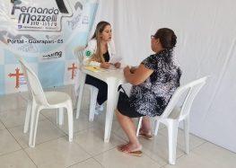 Ação do Hifa Guarapari atende mais de 100 pessoas no Portal Clube
