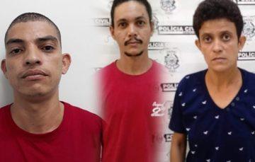 Presos suspeitos de homicídio em Santa Mônica, Guarapari