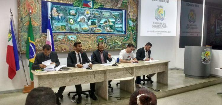Vereadores de Guarapari aprovam projetos que beneficiam servidores públicos e o Magistério