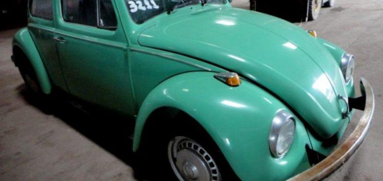 Leilão de veículos em Guarapari tem fusca da década de 70 como uma das estrelas