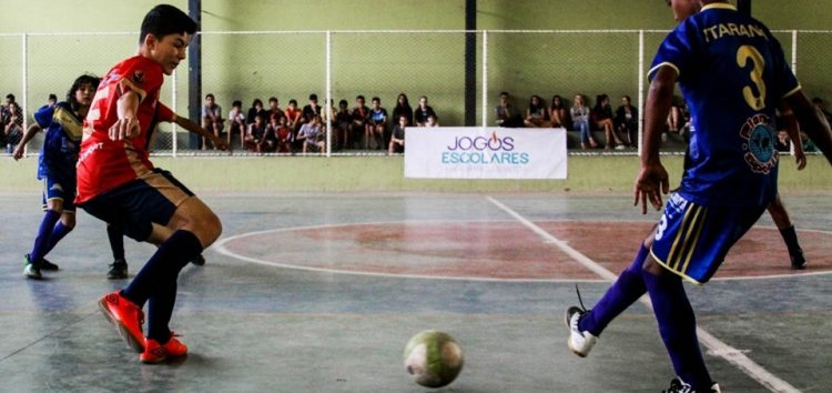 Chegou a vez da categoria juvenil disputar as finais dos jogos escolares do ES em Guarapari