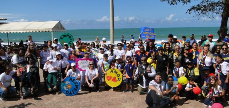 IV Caminhada da Pessoa com Deficiência reuniu cerca de 200 pessoas em Guarapari