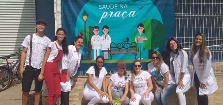 """Escola de Guarapari recebe """"Saúde na Praça"""""""