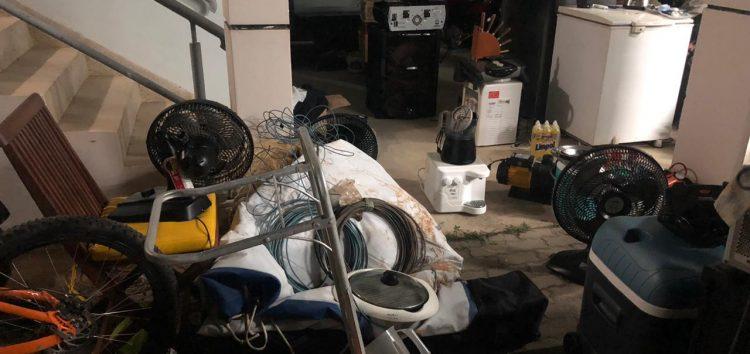 Policiais encontram galpão com objetos roubados em Guarapari
