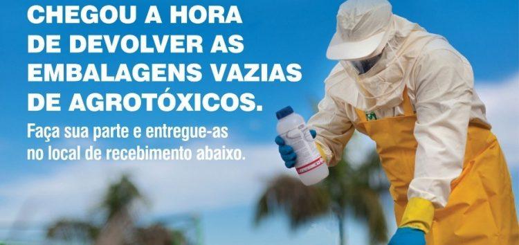 Ação recolhe embalagens vazias de agrotóxicos em comunidades de Guarapari