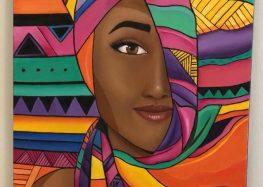 Exposição artística beneficente arrecada fundos para jovem de Guarapari