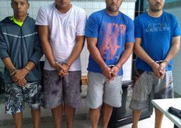 Chefes do tráfico de drogas foram presos em Alfredo Chaves