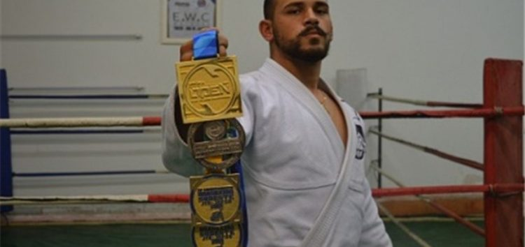 Morador de Alfredo Chaves lidera ranking de Jiu-Jitsu no Estado
