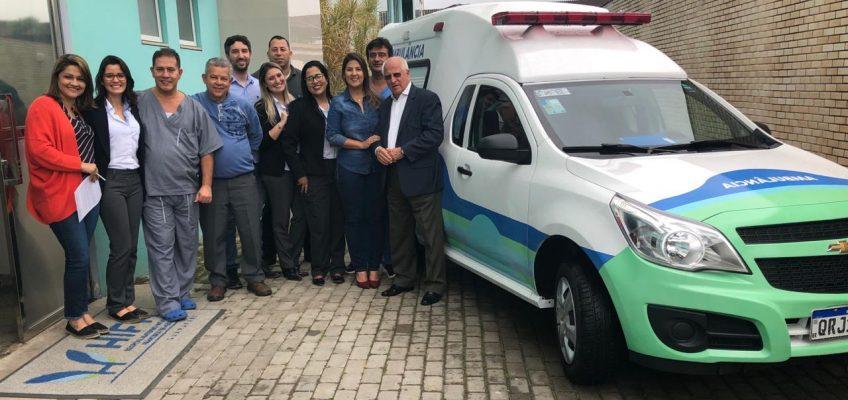 visita Doutor Hércules_entrega de ambulância (2)