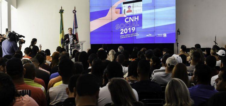 Abertas mais 2.500 vagas para o CNH Social no Espírito Santo