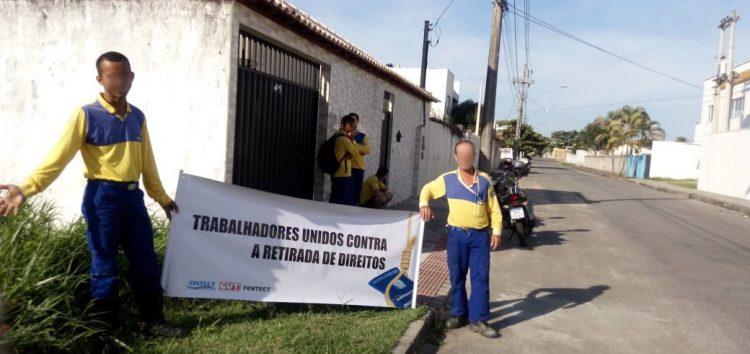 Funcionários dos Correios em Guarapari estão em greve