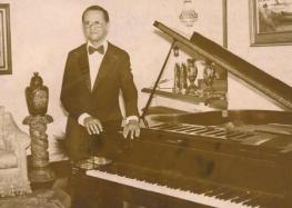 Pianista alfredense ganha biografia escrita pela neta