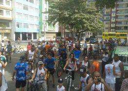 Passeio ciclístico comemora aniversário de faculdade em Guarapari