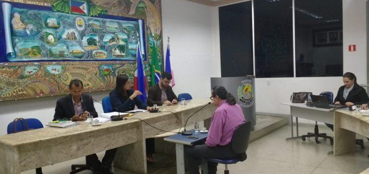 Ex-secretário de turismo comparece à terceira convocação da CP que investiga denúncia contra vereador de Guarapari