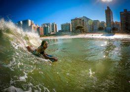 Bodyboarding: Atleta de Guarapari é campeã em casa pela primeira vez