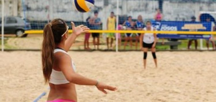 Jogos Escolares: Guarapari recebe finais de vôlei de praia nesse fim de semana