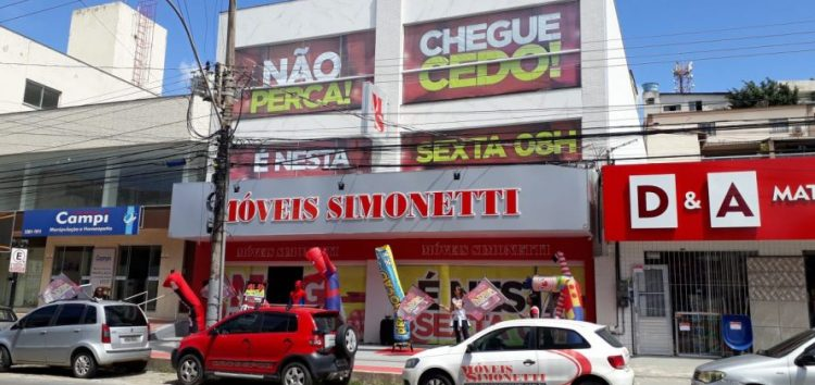 Simonetti Guarapari inaugura nova loja com promessa de preços jamais vistos