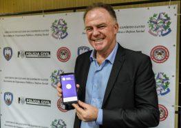 Casagrande apresenta novo aplicativo de segurança e Guarapari é um dos municípios contemplados
