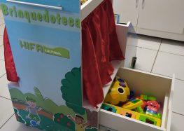 Hifa Guarapari inaugura nova brinquedoteca itinerante