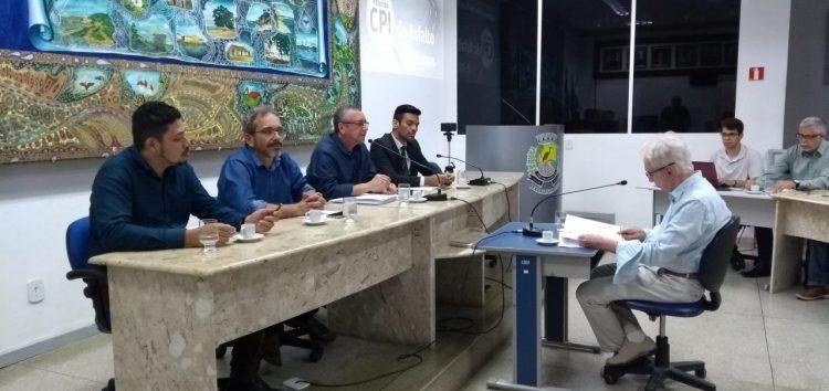 CPI do asfalto: primeiro convocado é ouvido na Câmara de Guarapari