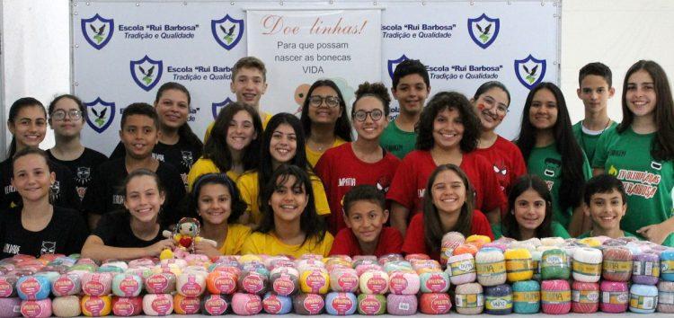 Espírito esportivo e solidariedade em mais uma edição das Olimpíadas da Escola Rui Barbosa