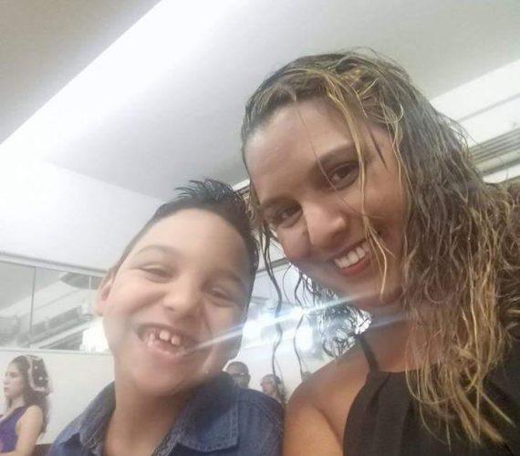 Mãe de Guarapari faz rifa para custear despesas em busca de tratamento para o filho com paralisia cerebral