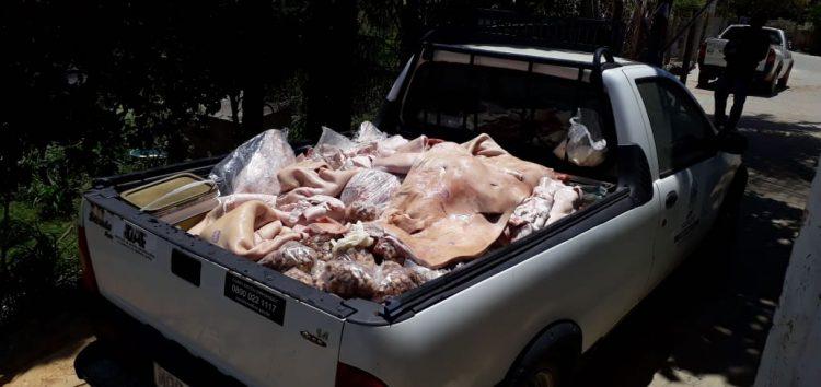 Operação conjunta apreende cerca de 700 kg de carne sem procedência em Guarapari