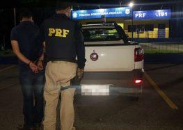 PRF recupera veículo roubado em Guarapari