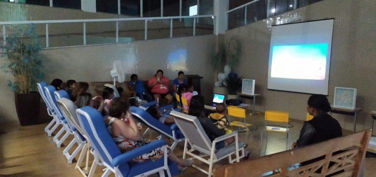 Sessão de cinema infantil marca início da semana da criança no Hifa Guarapari