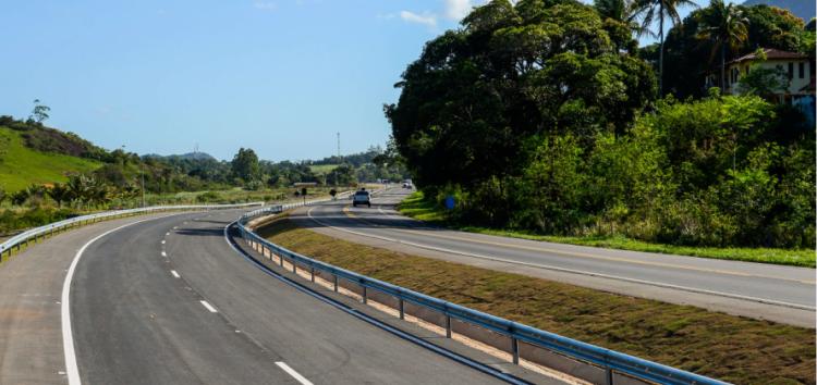 Pista duplicada entre Viana e Guarapari terá mais 6 quilômetros liberados para o tráfego