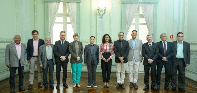Governo do ES recebe cônsul da China; Subsecretário Gedson Merízio acredita que Guarapari pode ser beneficiada por expansão da relação com o país