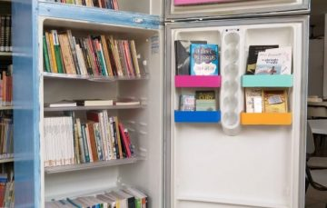 Dia Nacional do Livro: Anchieta lança projeto de estante de livros itinerante