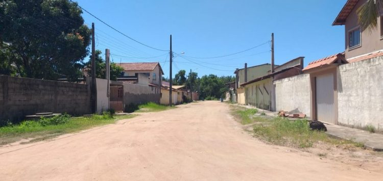 Bairro de Anchieta terá ruas pavimentadas e construção de calçadas cidadãs