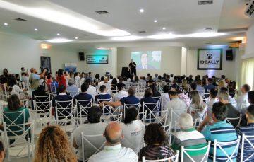 Ideally reúne cerca de 300 corretores em palestra sobre marketing e vendas em Guarapari