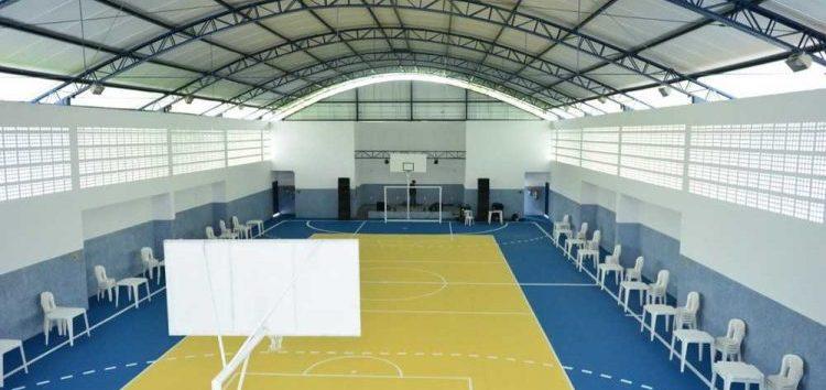Prefeito entrega Ginásio de Esportes à comunidade em Alfredo Chaves