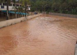Chuva: Moradores de Santa Mônica e Perocão estão ilhados em Guarapari