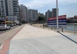 Revitalização da Prainha: Ordem de serviço fez 2 anos e prefeitura de Guarapari promete entregar a obra até dezembro