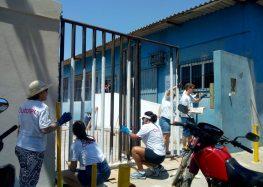 Solidariedade: Instituição de Guarapari recebe revitalização de voluntários