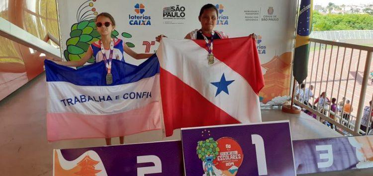 Atleta de Anchieta conquista medalha de prata em Paralimpíadas Escolares 2019