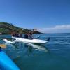 Canoas Havaianas: Desafio promove 28 km de remada no mar de Guarapari