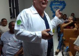 Novembro azul: Empresa de ônibus de Guarapari promove palestra sobre prevenção do câncer de próstata