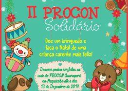 Campanha Procon Solidário: 2ª edição é lançada em Guarapari