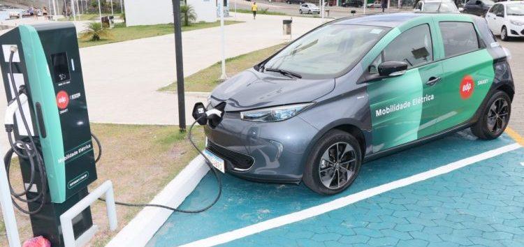 Guarapari ganha posto de recarga de veículos elétricos
