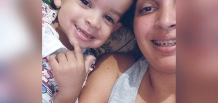 Em Guarapari, mãe pede doação de leite especial para o filho