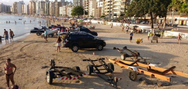 Verão Guarapari: Lanchas não poderão mais desembarcar no final da Praia do Morro