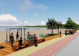 Início das obras na orla da Praia Central já foi autorizado em Anchieta