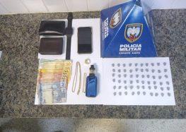 Policiais apreendem ecstasy em Guarapari